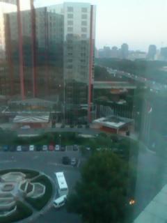 北京の熱い日